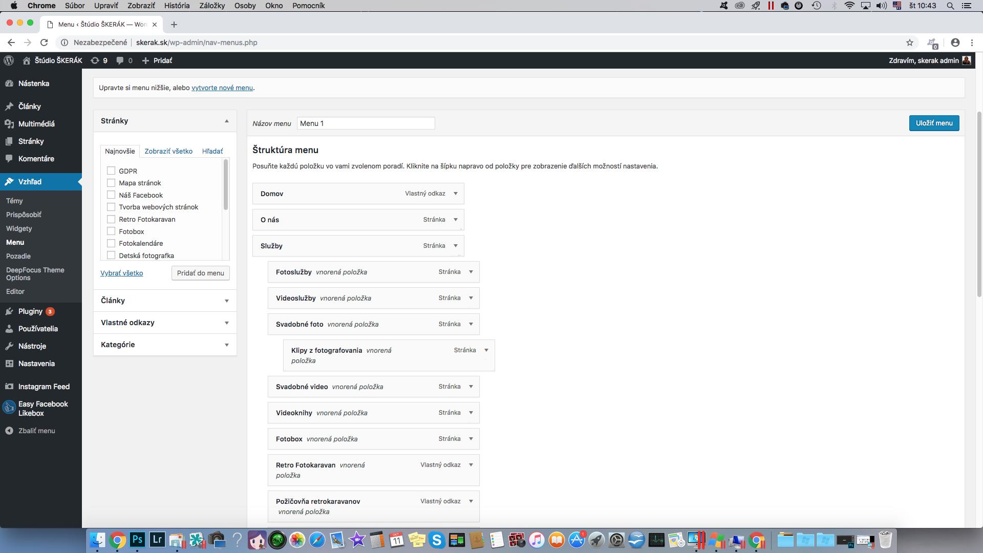 403c4d418098 Štúdio Škerák ponúka tvorbu web stránok na báze WordPressu – uživateľského  softvéru